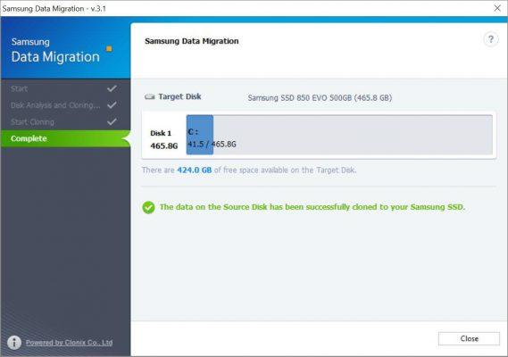 Samsung Data Migration