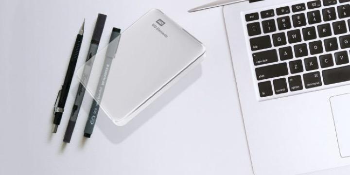 macbook không nhận ổ cứng ngoài