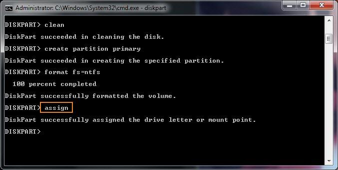 format ổ cứng bằng cmd