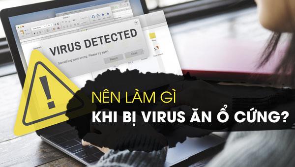 ổ cứng bị virus