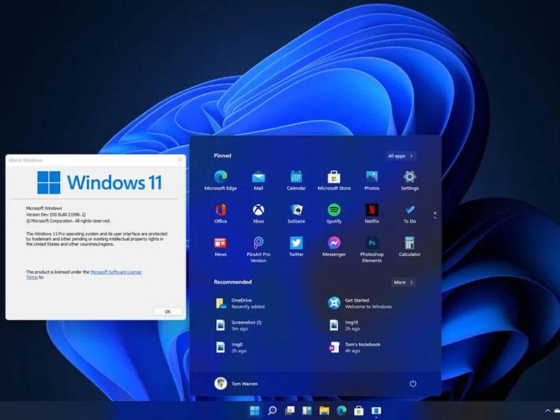 windows 11 yêu cầu cấu hình máy tính