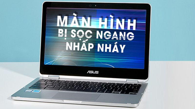 màn hình laptop bị nháy