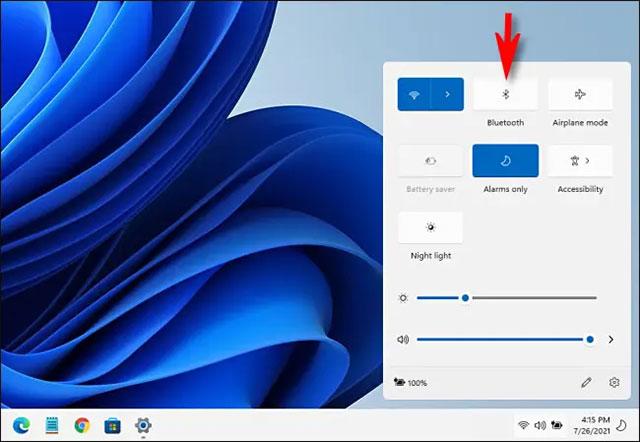 cách bật bluetooth trên windows 11